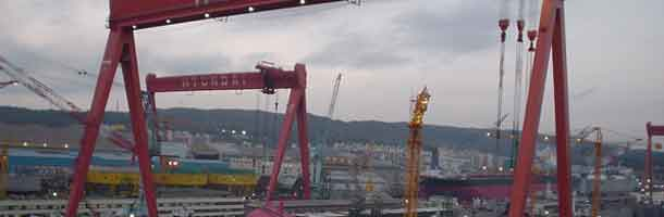 Det lysner for Hyundai Heavy Industries