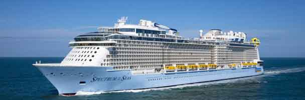 Spectrum of the Seas leveret til ejeren