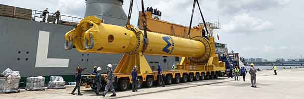 Blue Water ekspederer 187-tons hammer