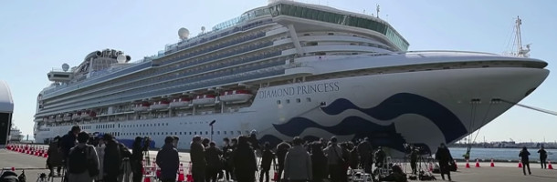 44 nye smittede på Diamond Princess